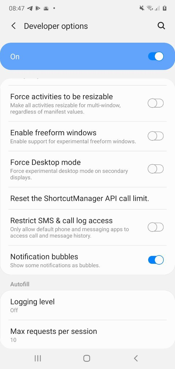 How to access debug menu in Telegram beta and enable chat bubbles