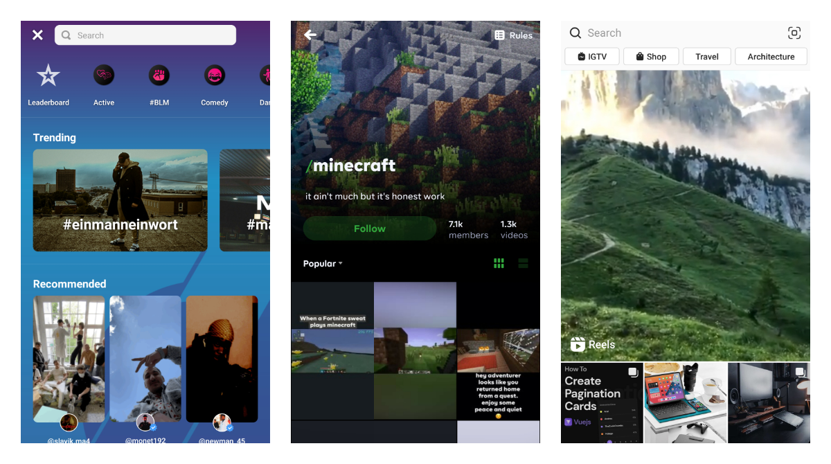 5 best alternatives for TikTok creators to test before US ban is here