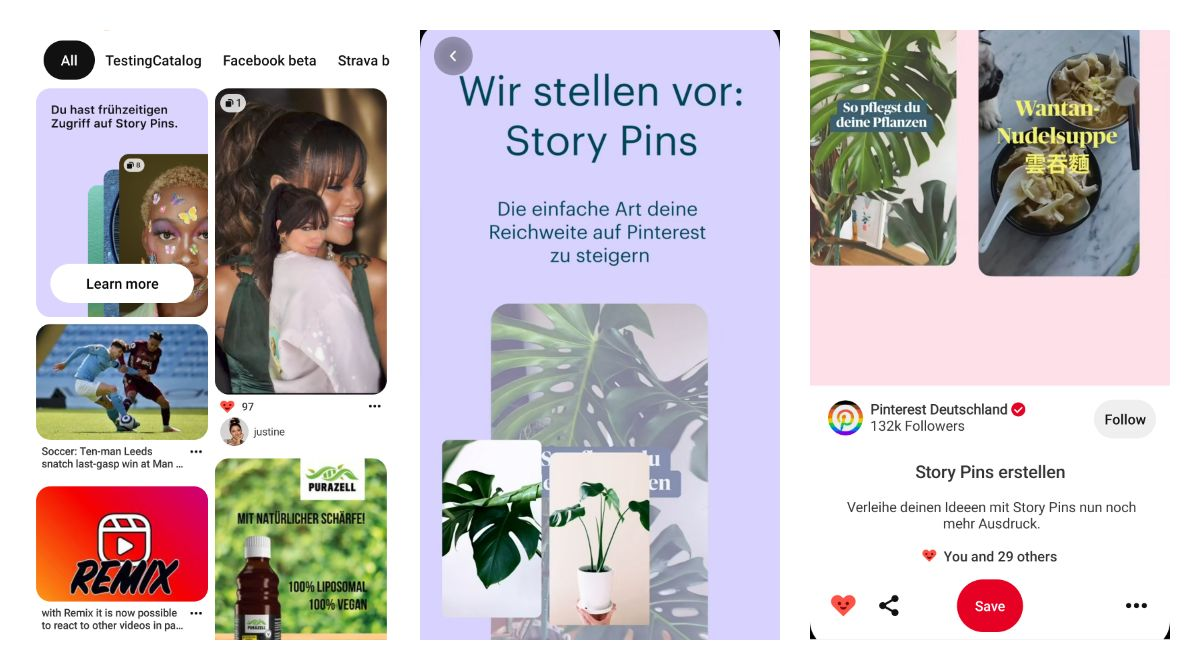 Pinterest Story Pins Introduction