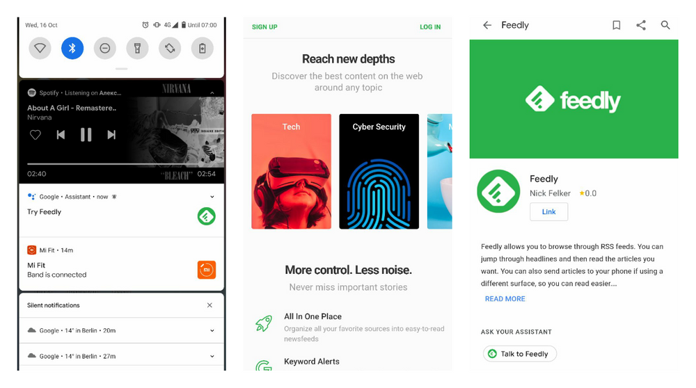 Feedly is working on the integration with Google Assistant and looking for 50 beta testers