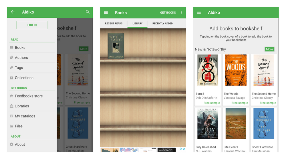 Aldiko Book Reader for Android app review