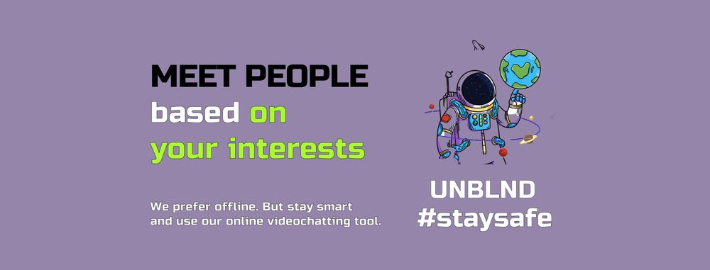 Beta testing UNBLND that helps you to meet people with similar interests