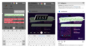 Instagram made 8 new fonts available to everyone in stories editor
